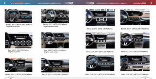 "Multimedia Video Interface for Mercedes Benz MBUX 6.0 A-Class GLE-Class S-Class Mirroring 4G WiFi (7""Original Car Screen)"