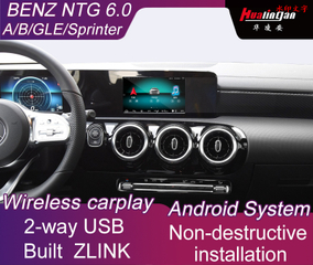 Multimedia Video Interface for Mercedes-Benz GLE Sprinter Class with NTG 6.0 System Wireless CarPlay
