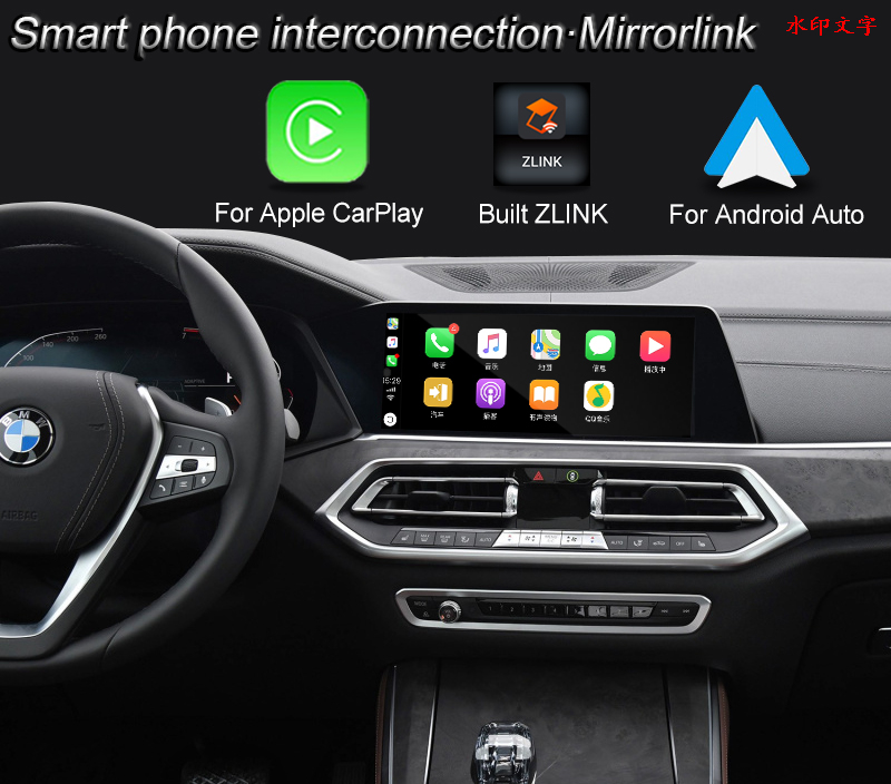 Multimedia Video Interface Adapter for BMW M5 M8 MGU EVO ID7 System Built ZLINK Wireless CarPlay / Andrio Auto