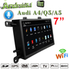 "7""Anti-Glare Audi A4 / Q5 / A5 MMI 2G Multimedia Gps Navigatior Carplay Android Octa Core Aux 4g Wifi"