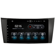 "8""Anti-Glare Benz E CLS CLK G Car Stereo Players Android 8.0 Dvd Car Player"
