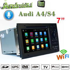 "7""Anti-Glare Audi A4 S4 Carplay Gps Car Stereo FLASH 2+32G"