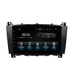 "Casrplay 8""benz C Clk Gps Anti-Glare Car Dvd Plays 3G Internet Or Wifi Connection"