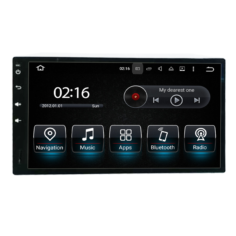 "7""Universal Double DIN android car stereo wifi connection,3g internet,car dvd player"