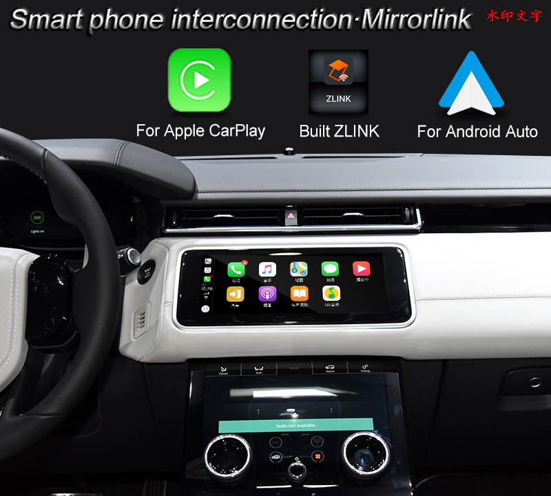 Multimedia Video Interface box for Range Rover Starburst Built ZLINK Wireless CarPlay Andriod Auto