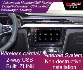 Car Multimedia Video Interface for Volkswagen Golf 7 Built ZLINK Wireless CarPlay Andrio Auto 4G