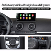 "10.25""Audi A3 MMI 3G Car Multimedia Android Navigation Bluetooth Usb Tf Fm Aux Carplay"